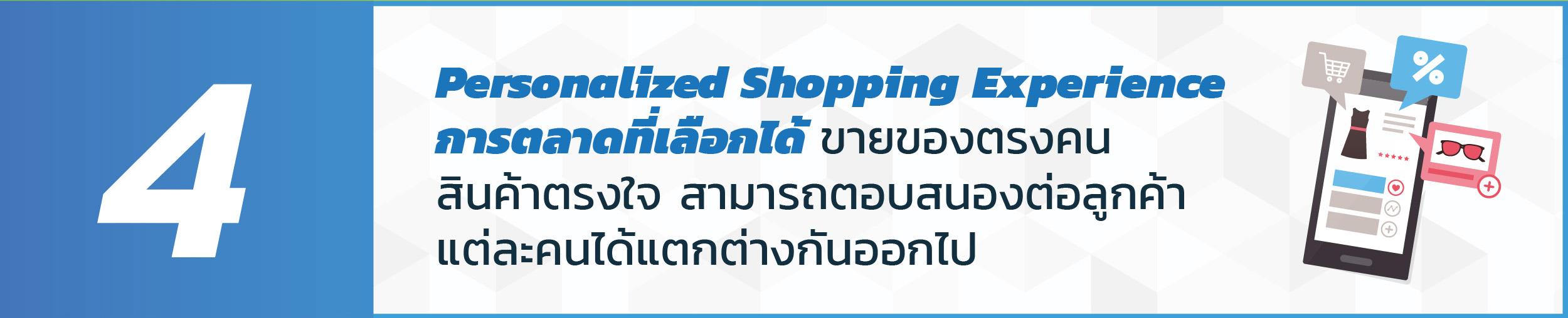 เปิดร้านออนไลน์_Persomalized_Experience